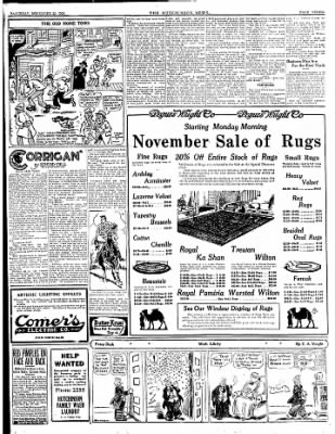 The Hutchinson News from Hutchinson, Kansas on November 22, 1924 · Page 7