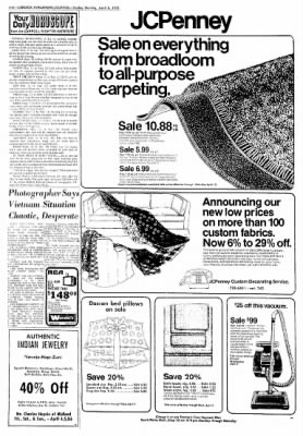 Lubbock Avalanche-Journal from Lubbock, Texas on April 6, 1975 · Page 4