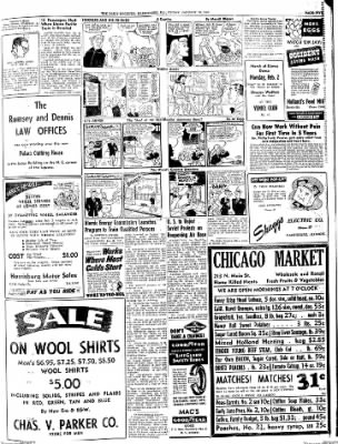 The Daily Register from Harrisburg, Illinois on January 30, 1948 · Page 5