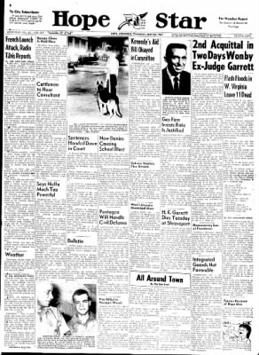 Hope Star from Hope, Arkansas on July 20, 1961 · Page 1