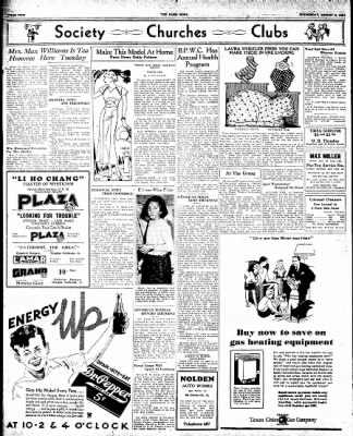 The Paris News from Paris, Texas on August 8, 1934 · Page 2