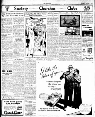 The Paris News from Paris, Texas on August 9, 1934 · Page 2