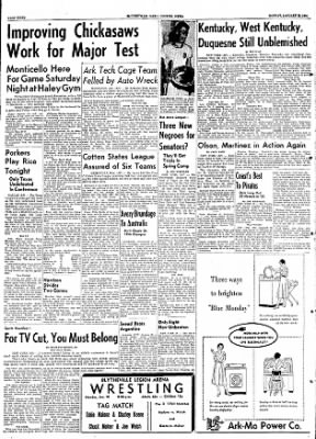 The Courier News from Blytheville, Arkansas on January 18, 1954 · Page 8