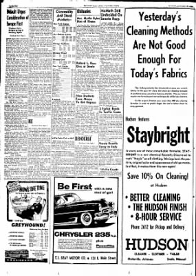 The Courier News from Blytheville, Arkansas on January 25, 1954 · Page 10