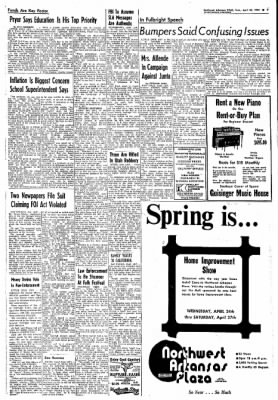 Northwest Arkansas Times from Fayetteville, Arkansas on April 23, 1974 · Page 7