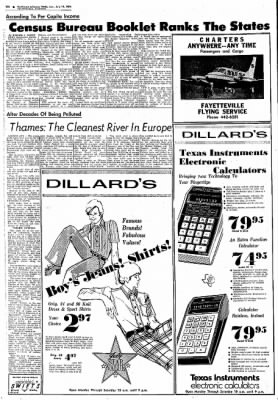 Northwest Arkansas Times from Fayetteville, Arkansas on July 14, 1974 · Page 10