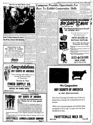 Northwest Arkansas Times from Fayetteville, Arkansas on February 6, 1952 · Page 15