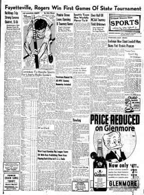 Northwest Arkansas Times from Fayetteville, Arkansas on March 6, 1952 · Page 17