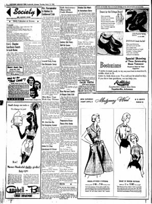 Northwest Arkansas Times from Fayetteville, Arkansas on March 13, 1952 · Page 2