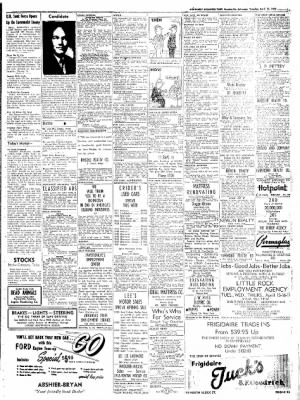 Northwest Arkansas Times from Fayetteville, Arkansas on April 15, 1952 · Page 11