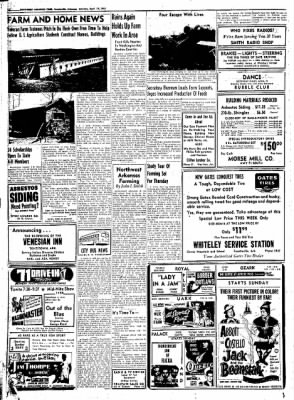 Northwest Arkansas Times from Fayetteville, Arkansas on April 19, 1952 · Page 20