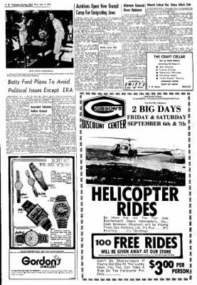 Northwest Arkansas Times from Fayetteville, Arkansas on September 5, 1974 · Page 6