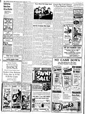Northwest Arkansas Times from Fayetteville, Arkansas on May 15, 1952 · Page 16