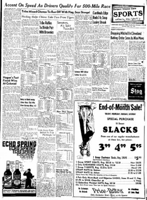 Northwest Arkansas Times from Fayetteville, Arkansas on May 26, 1952 · Page 9