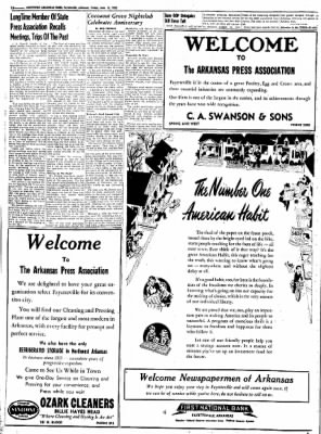 Northwest Arkansas Times from Fayetteville, Arkansas on June 13, 1952 · Page 10