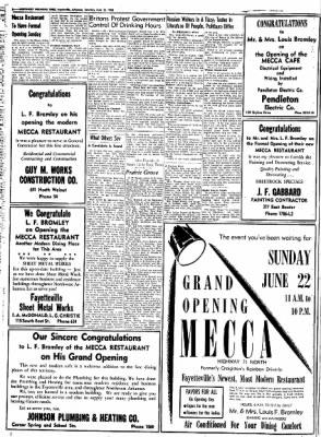 Northwest Arkansas Times from Fayetteville, Arkansas on June 21, 1952 · Page 6