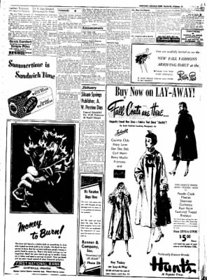 Northwest Arkansas Times from Fayetteville, Arkansas on July 14, 1952 · Page 3