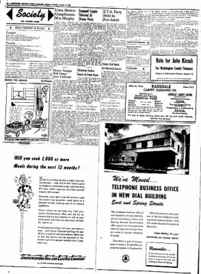 Northwest Arkansas Times from Fayetteville, Arkansas on August 4, 1952 · Page 2