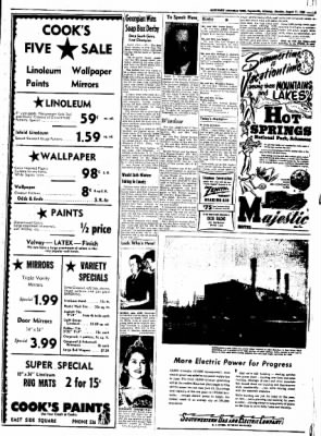Northwest Arkansas Times from Fayetteville, Arkansas on August 11, 1952 · Page 5