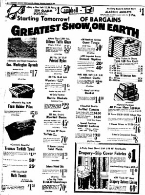 Northwest Arkansas Times from Fayetteville, Arkansas on August 13, 1952 · Page 6