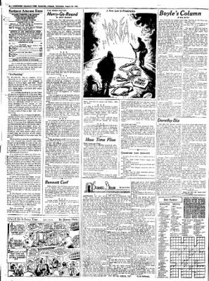 Northwest Arkansas Times from Fayetteville, Arkansas on August 20, 1952 · Page 4