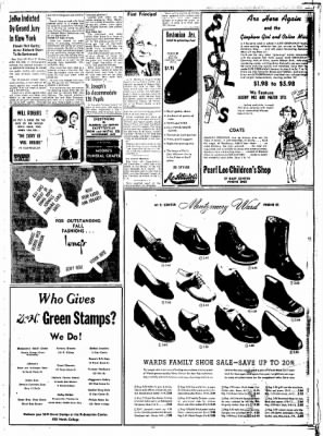 Northwest Arkansas Times from Fayetteville, Arkansas on August 26, 1952 · Page 11