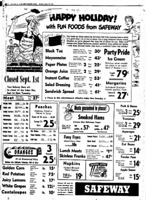Northwest Arkansas Times from Fayetteville, Arkansas on August 28, 1952 · Page 12