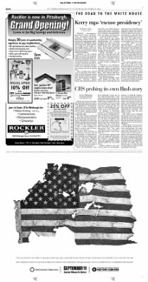 Pittsburgh Post-Gazette from Pittsburgh, Pennsylvania on September 16, 2004 · Page 14