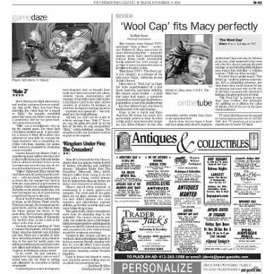 Pittsburgh Post-Gazette from Pittsburgh, Pennsylvania on November 19, 2004 · Page 104