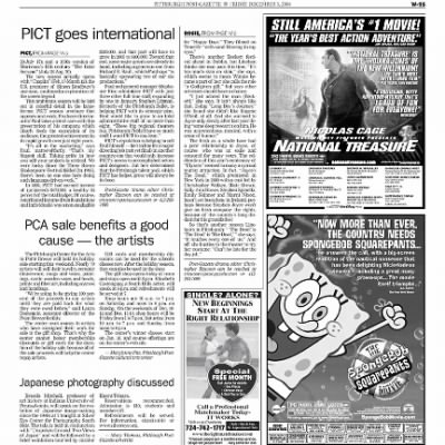 Pittsburgh Post-Gazette from Pittsburgh, Pennsylvania on December 3, 2004 · Page 84