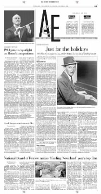 Pittsburgh Post-Gazette from Pittsburgh, Pennsylvania on December 4, 2004 · Page 31